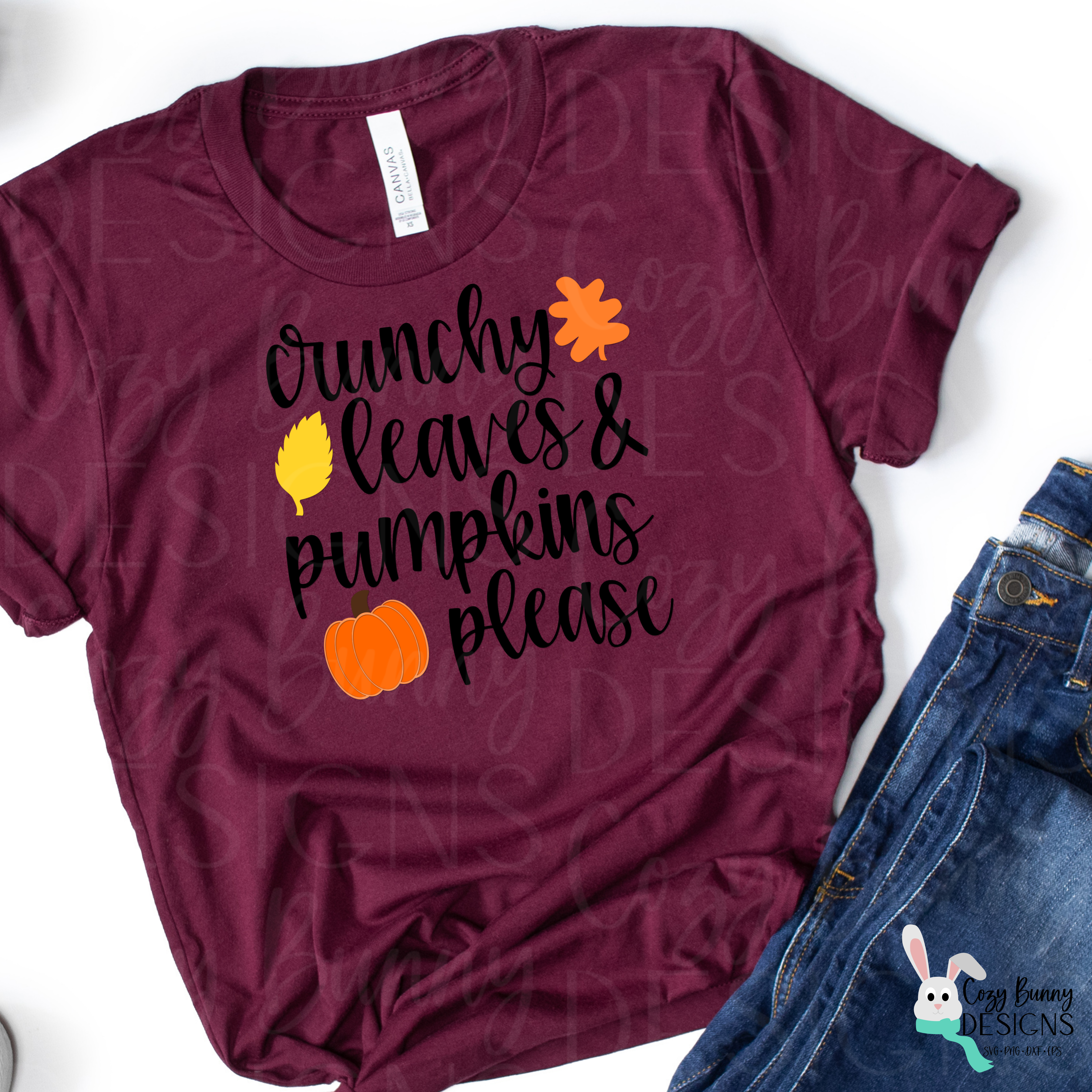 Read more about the article Crunchy Leaves & Pumpkins Please – Free Fall SVG
