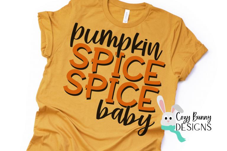 Pumpkin Spice Spice Baby Shirt Mockup
